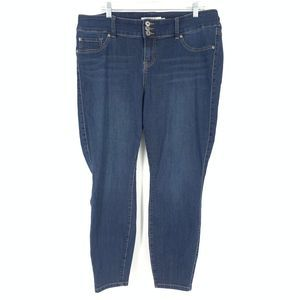 Torrid Size 18 Jegging Jeans Dark Wash Denim